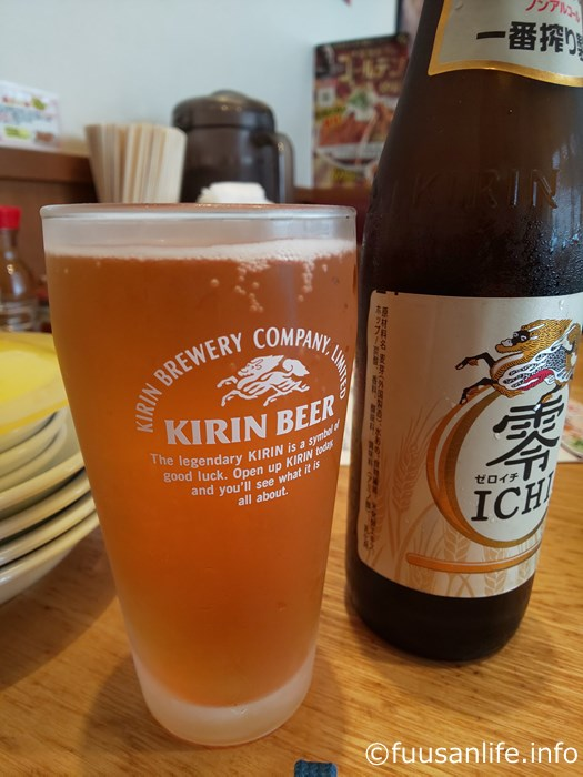 ノンアルコール瓶ビール零ICHIの写真