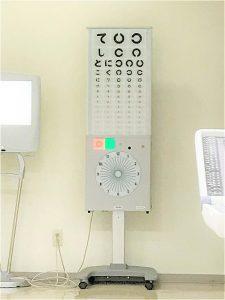 視力表の写真