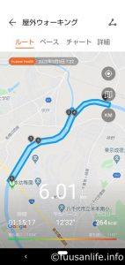 八千代市新川ウォーキングルートの画像